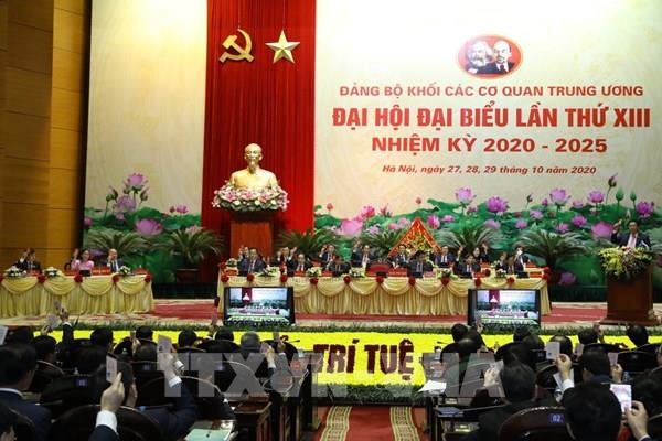 51 đồng chí tham gia Ban Chấp hành Đảng bộ Khối các Cơ quan TW nhiệm kỳ 2020-2025