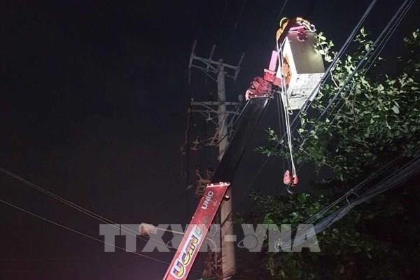 Bình Định cấp điện lại ngay cho 300.000 khách hàng bị ảnh hưởng do bão số 9