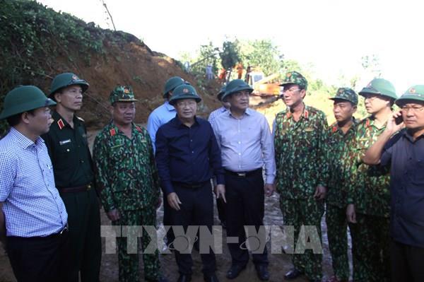 Vụ sạt lở tại Nam Trà My - Quảng Nam: Đã tìm thấy 16 thi thể nạn nhân