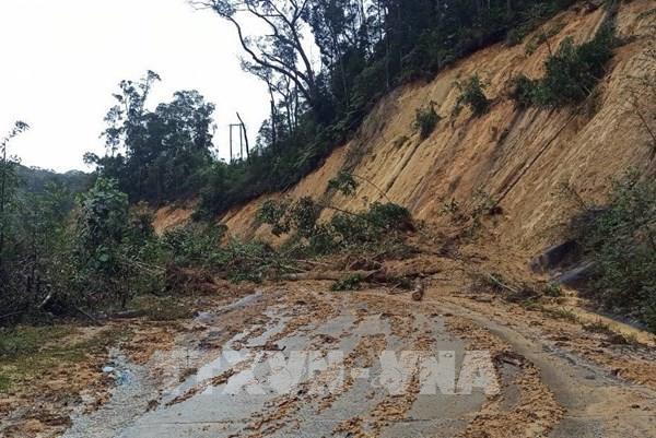 Nguy cơ cao lũ quét, sạt lở đất tại Bắc Bộ, Thanh Hóa đến Quảng Nam