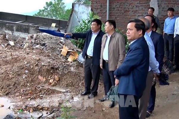Hòa Bình đẩy nhanh tiến độ các dự án khắc phục cấp bách sạt lở