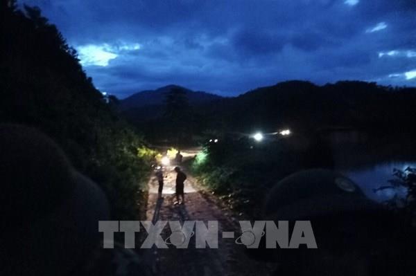Vụ sạt lở tại huyện Phước Sơn: Lũ quét cản trở việc tìm kiếm, cứu nạn