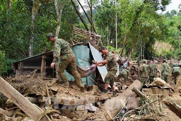 Vụ sạt lở đất ở Nam Trà My - Quảng Nam:  Tìm thấy thêm hai thi thể nạn nhân