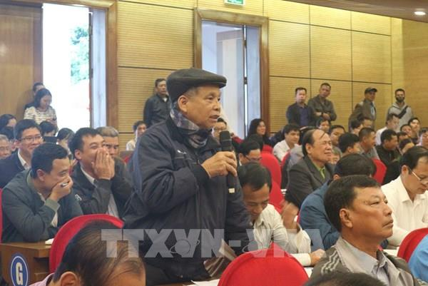 Hà Nội: Lần thứ 2 đối thoại gỡ vướng giải phóng mặt bằng bãi rác Nam Sơn