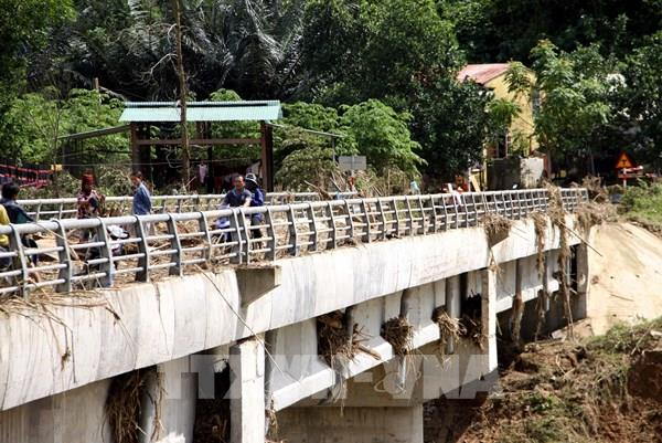 Quảng Nam khắc phục thiệt hại tại 2 huyện miền núi Đông Giang và Nam Giang