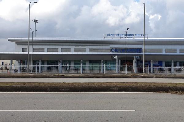 Bão số 9: Khai thác trở lại sân bay Chu Lai sau hơn 2 ngày đóng cửa