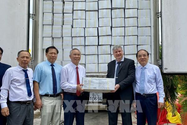 Tập đoàn Nam Việt xuất khẩu sản phẩm cá tra sản xuất theo công nghệ cao