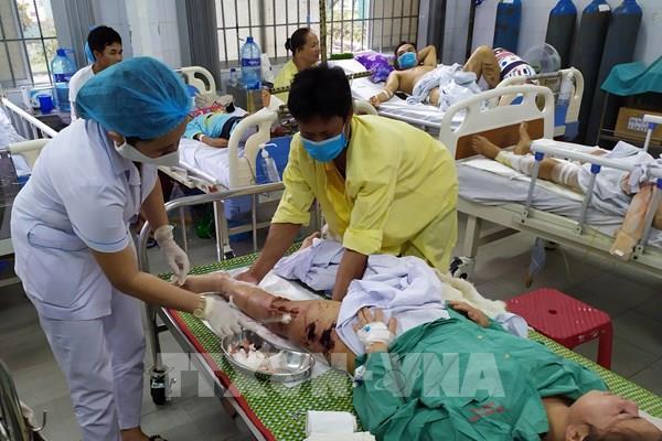 Quảng Nam: Tích cực cứu chữa, tìm kiếm nạn nhân vụ sạt lở đất Trà Leng
