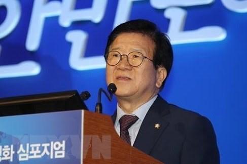 Chủ tịch Quốc hội Hàn Quốc bắt đầu thăm chính thức Việt Nam