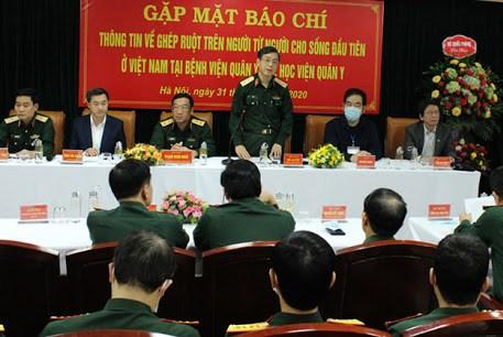 Học viện Quân y ghép ruột thành công từ người cho sống đầu tiên ở Việt Nam