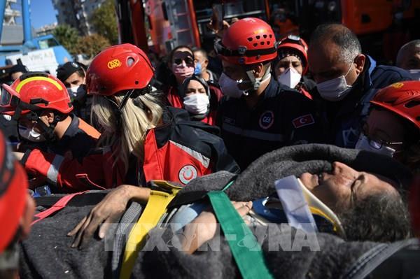Hơn 40 người thiệt mạng do động đất tại Thổ Nhĩ Kỳ