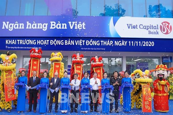Ngân hàng Bản Việt khai trương điểm giao dịch đầu tiên ở Đồng Tháp