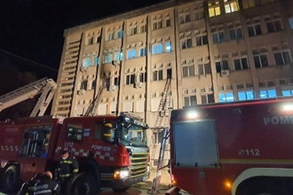 Romania: Cháy bệnh viện, 10 bệnh nhân COVID-19 thiệt mạng