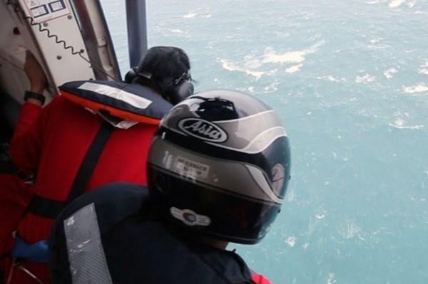 Đề xuất điều động tàu SAR 413 hỗ trợ tìm kiếm hai công nhân mất tích trên biển Bình Thuận