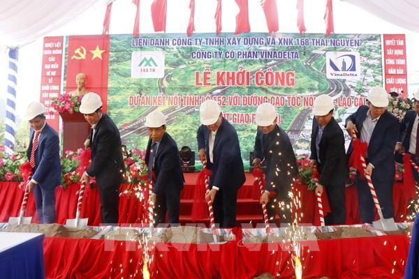 Kết nối tỉnh lộ 152 với đường cao tốc Nội Bài - Lào Cai