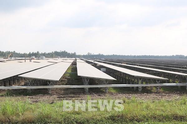 Thêm nhà máy điện mặt trời tại khu vực miền Tây