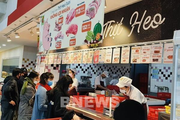 Central Retail áp dụng chương trình bán thịt lợn tươi không lợi nhuận