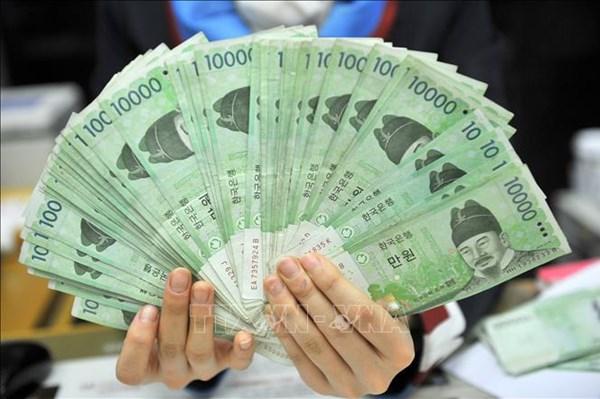 Nhà đầu tư nước ngoài mua ròng 17,82 nghìn tỷ won trái phiếu Hàn Quốc