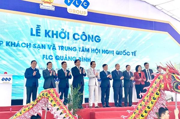FLC khởi công Tổ hợp khách sạn 5 sao và Trung tâm Hội nghị Quốc tế FLC Quảng Bình