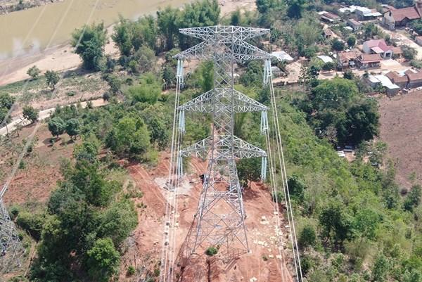 Chậm nhất đến ngày 31/3 hoàn thành đường dây 500 kV Dốc Sỏi-Pleiku 2