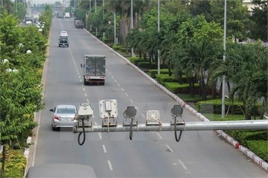 Đưa vào hoạt động camera giám sát giao thông trên tuyến Quốc lộ 1A