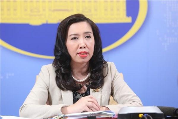 Việt Nam phản đối mọi hành động xâm phạm chủ quyền đối với quần đảo Trường Sa