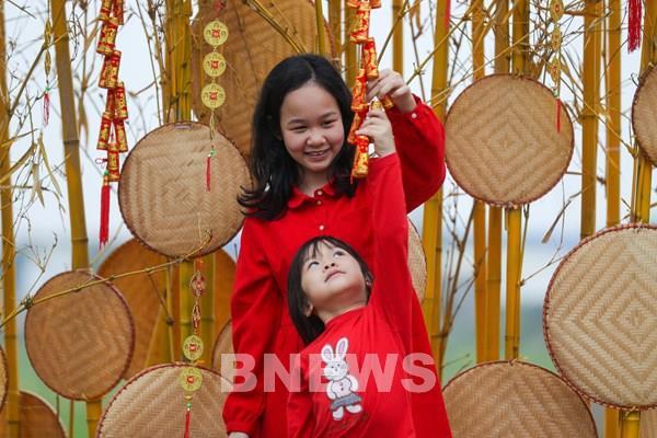 Rực rỡ sắc hoa Home Hanoi Xuan 2021