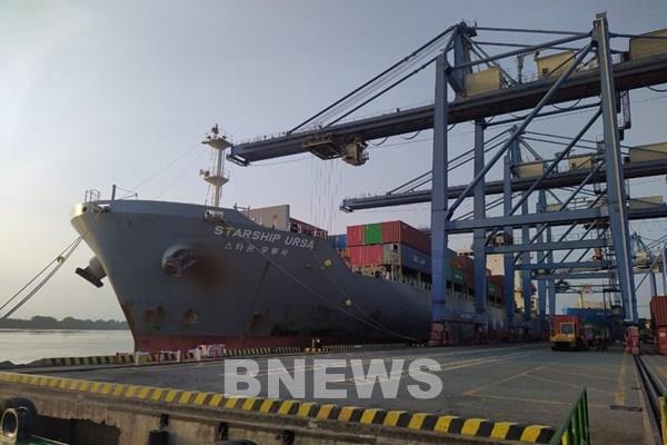 Đầu năm, ngành hàng hải đón 2 tàu lớn nước ngoài vào làm hàng