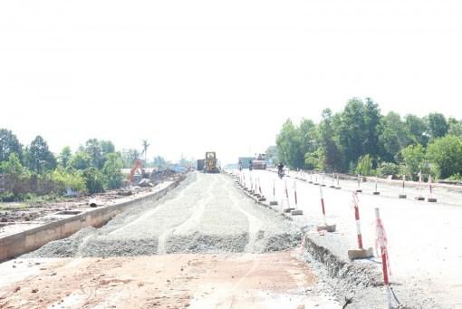 Nhiều dự án giao thông tại Long An gặp vướng mắc về GPMB