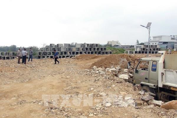 Phú Yên: Xử phạt doanh nghiệp tận thu đất san lấp mặt bằng tại KĐT Ánh Dương