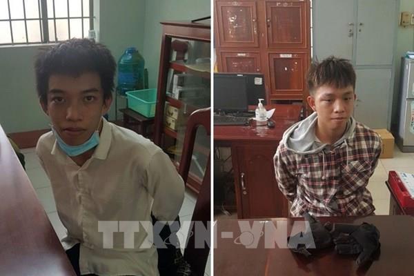 Kiên Giang: Bắt hai anh em ruột cướp ngân hàng bất thành