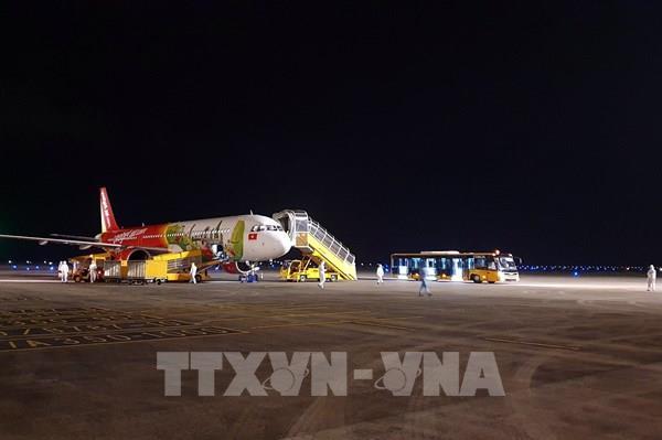 Sân bay Vân Đồn nối lại chuyến bay quốc tế