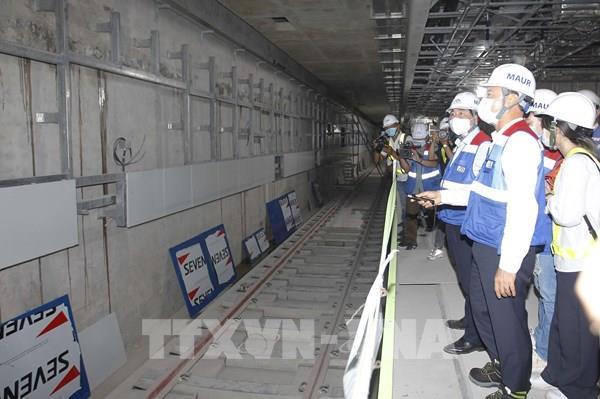 Dự án metro Bến Thành – Suối Tiên vẫn thi công