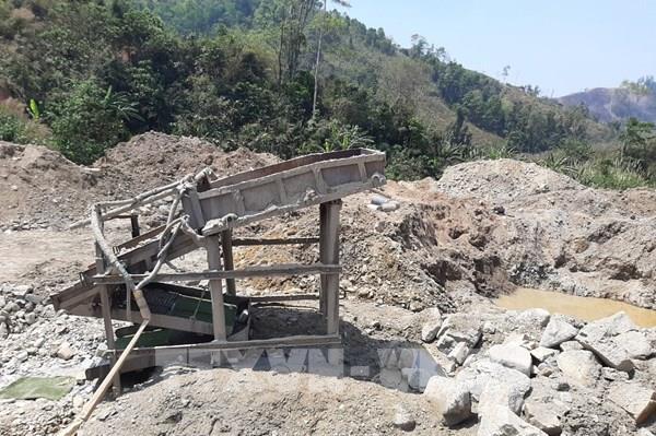 Gia Lai phát hiện dấu hiệu khai thác khoáng sản vàng trái phép