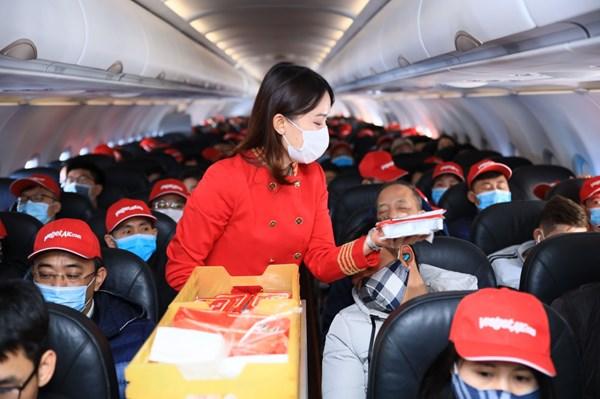 Vietjet Air khai thác trở lại một số đường bay quốc tế