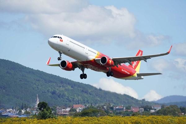 Cấp quyền vận chuyển cho Vietjet khai thác 5 đường bay đi/đến Phú Quốc