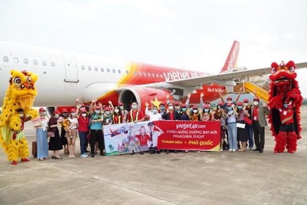 Vietjet khai thác nhiều đường bay tới Phú Quốc