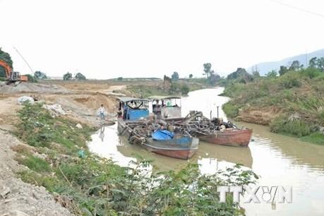 Phản hồi TTXVN: Lâm Đồng yêu cầu đơn vị khai thác cát trên sông Đa Nhim khắc phục vi phạm