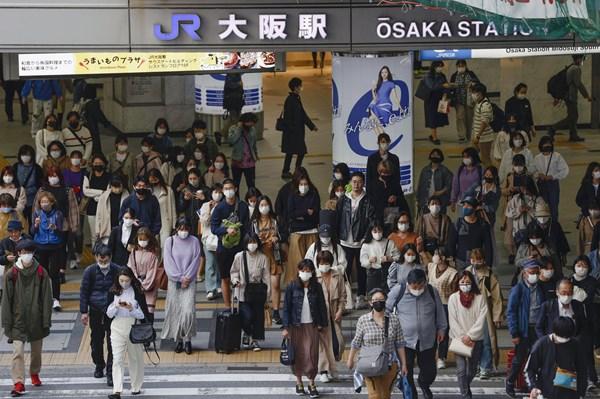 Tỉnh Osaka của Nhật Bản ghi nhận 1.099 ca nhiễm mới COVID-19