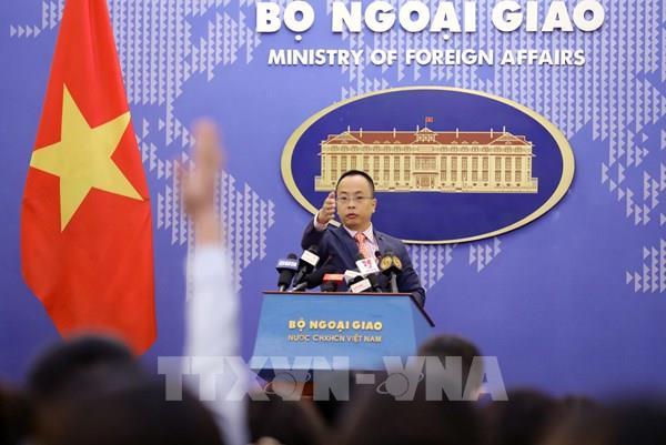 Việt Nam mong muốn các nước duy trì hòa bình, ổn định, an ninh, thượng tôn pháp luật tại Biển Đông