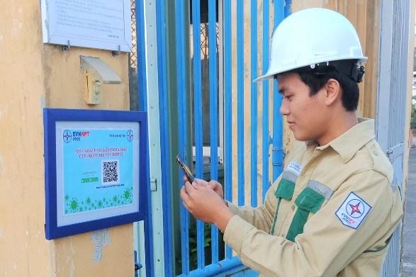 Truyền tải điện Quảng Ngãi sáng tạo phần mềm khai báo ý tế, phòng chống dịch COVID-19