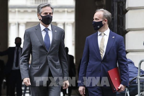 Bộ trưởng Tài chính Anh chủ trì cuộc họp trực tiếp các bộ trưởng tài chính G7