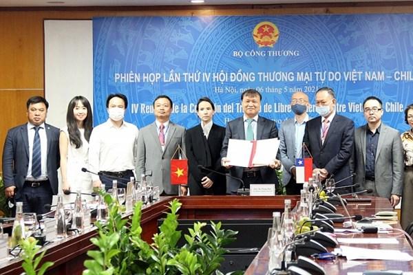Tận dụng cơ hội từ FTA Việt Nam-Chile