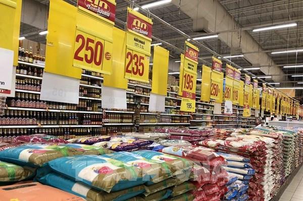 Thị trường gạo châu Á: Giá gạo 5% tấm của Thái Lan giảm xuống 475-485 USD/tấn