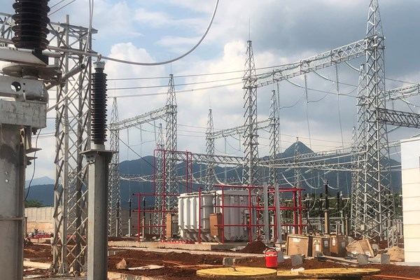 Tập trung cho tư vấn giám sát dự án Trạm biến áp 220 kV Lao Bảo