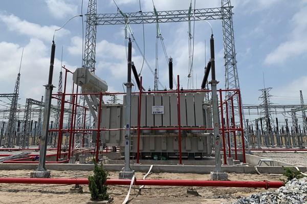 Đóng điện dự án nâng công suất Trạm biến áp 220 kV Thanh Nghị - Hà Nam