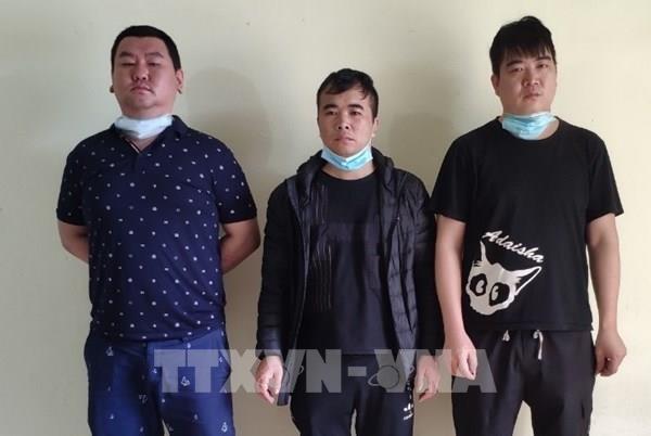 Phát hiện ba công dân Trung Quốc tìm đường xuất cảnh trái phép