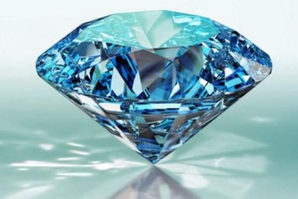 Kim cương xanh quý hiếm ở Nam Phi chuẩn bị được đấu giá