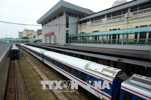 Đường sắt tạm dừng tàu khách tuyến Hà Nội – Hải Phòng