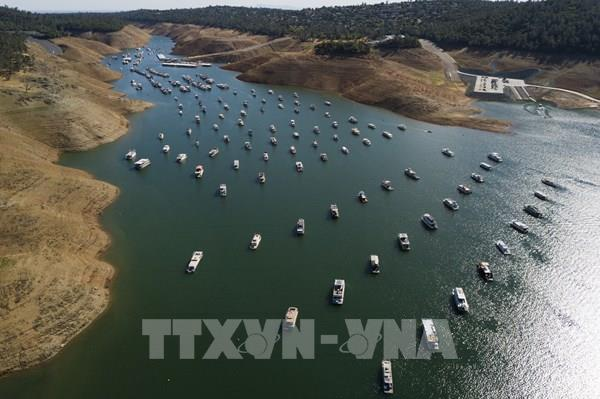 Hạn hán tại miền Tây Mỹ làm cạn nước nhiều hồ chứa